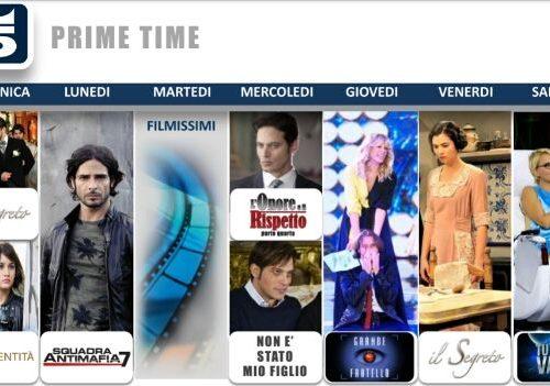 Tre serie in autunno su Canale 5