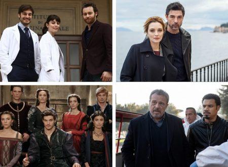 Le fiction Rai in onda nella stagione 2018/2019