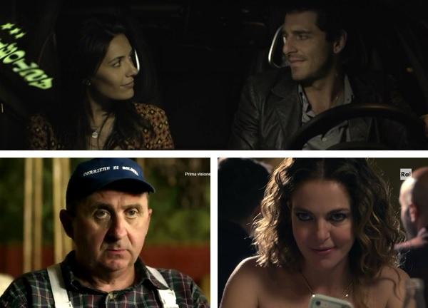 """L'ispettore Coliandro: Vito, Serena Rossi e Claudia Gerini nel cast dell'episodio """"Serial killer""""."""